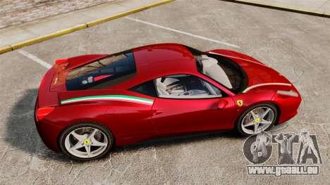 Ferrari 458 Italia 2010 Novitec pour GTA 4 est une gauche