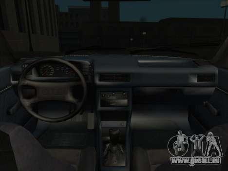 Audi 80 B2 v2.0 pour GTA San Andreas vue de droite