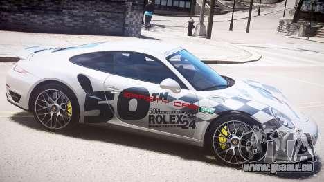 Porsche 911 Turbo 2014 für GTA 4 linke Ansicht