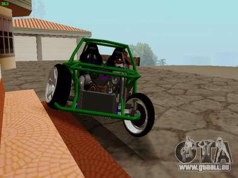 Nocturnal Motorsports Coyote für GTA San Andreas Rückansicht