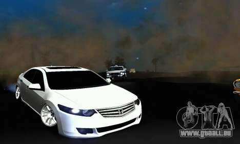 Honda Accord Tuning pour GTA San Andreas laissé vue