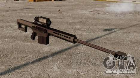 Fusil de précision Barrett M107 pour GTA 4