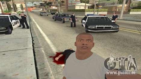 Trevor, Michael, Franklin pour GTA San Andreas neuvième écran