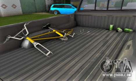 Dodge Ram 2500 pour GTA San Andreas vue arrière