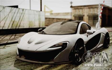 McLaren P1 2014 v2 pour GTA San Andreas