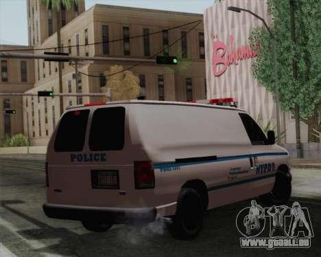 Ford F150 Police pour GTA San Andreas laissé vue
