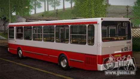 LIAZ peau 5256.00 3-Pack pour GTA San Andreas vue de côté