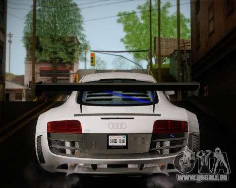 Audi R8 LMS Ultra v1.0.1 DR pour GTA San Andreas vue de droite