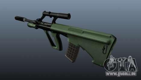 Steyr AUG Selbstladegewehr für GTA 4 Sekunden Bildschirm