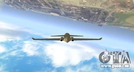 Plain Cam für GTA San Andreas her Screenshot