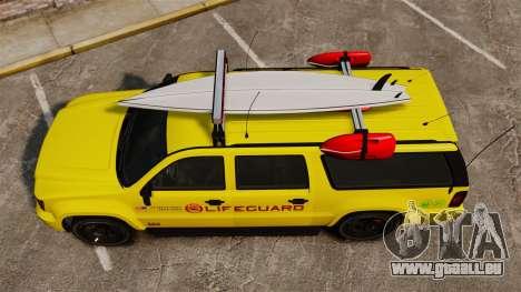 GTA V Declasse Granger 3500LX Lifeguard für GTA 4 rechte Ansicht