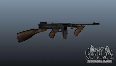 Pistolet mitrailleur Thompson M1928 pour GTA 4 troisième écran