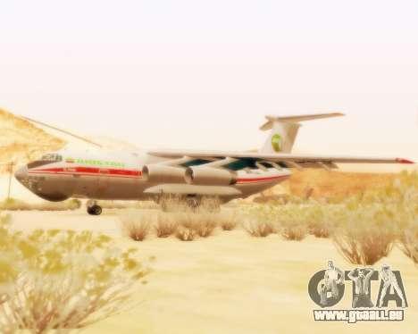 Ilyushin Il-76td pour GTA San Andreas laissé vue
