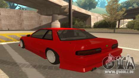 Nissan Onevia für GTA San Andreas Rückansicht