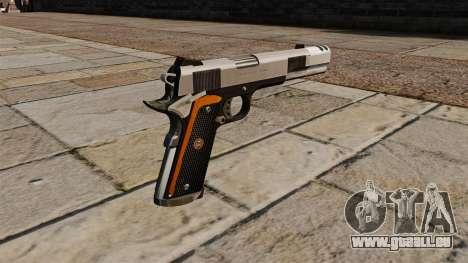 Pistolet Colt 1911 à Custom pour GTA 4 secondes d'écran