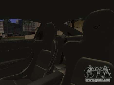 RUF RGT-8 für GTA San Andreas Innen