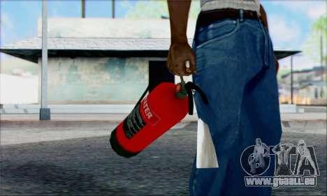 Nouvel extincteur 2 pour GTA San Andreas deuxième écran