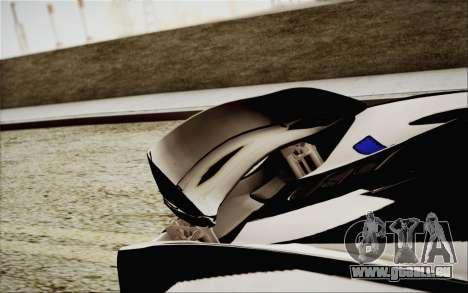 McLaren P1 2014 v2 pour GTA San Andreas vue de côté