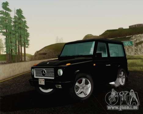 Mercedes-Benz G500 1999 Short für GTA San Andreas