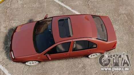 Volkswagen Bora VR6 2003 pour GTA 4 est un droit