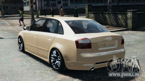 Audi S4 2004 pour GTA 4 est une gauche