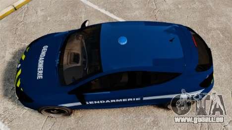 Renault Megane RS Gendarmerie Nationale [ELS] pour GTA 4 est un droit