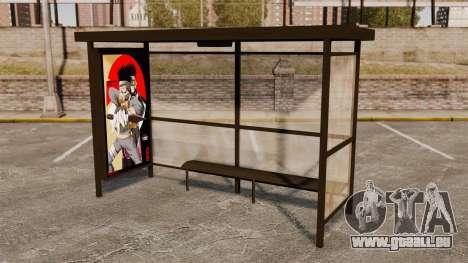 Arrêts de bus Naruto pour GTA 4 quatrième écran