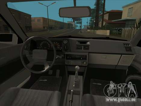 Toyota Trueno AE86 Initial D 4th Stage pour GTA San Andreas vue arrière