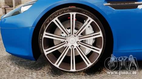 Aston Martin Rapide 2010 pour GTA 4 Vue arrière