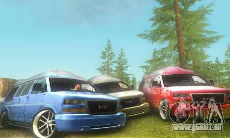 GMC Savana pour GTA San Andreas