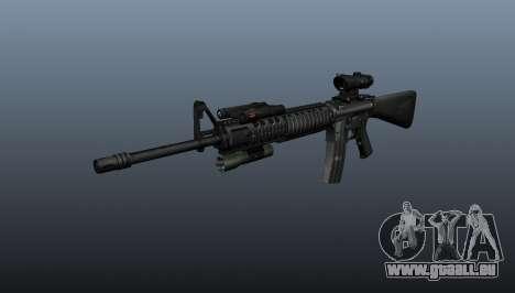 Fusil d'assaut AEG M16A4 pour GTA 4