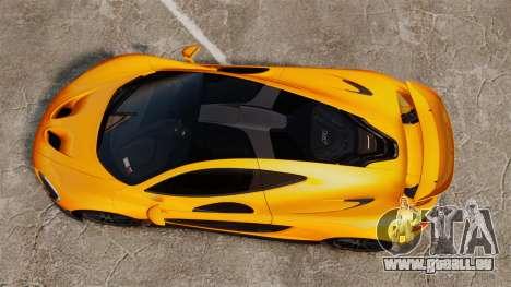 McLaren P1 2014 [EPM] für GTA 4 rechte Ansicht
