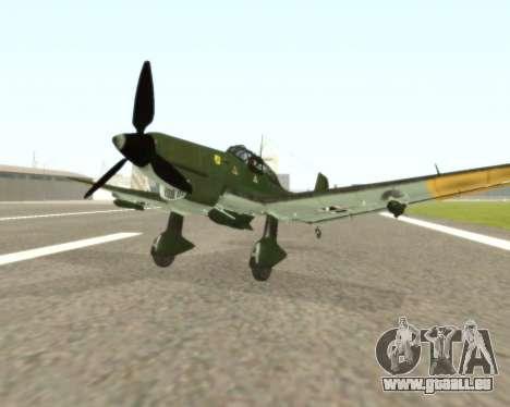Junkers Ju-87 Stuka pour GTA San Andreas