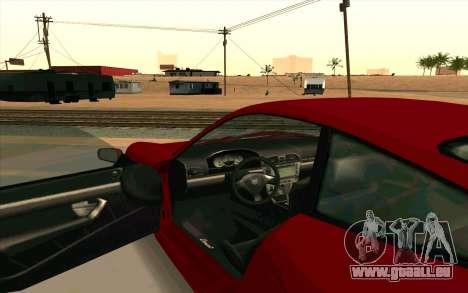 Comet GTA V pour GTA San Andreas sur la vue arrière gauche