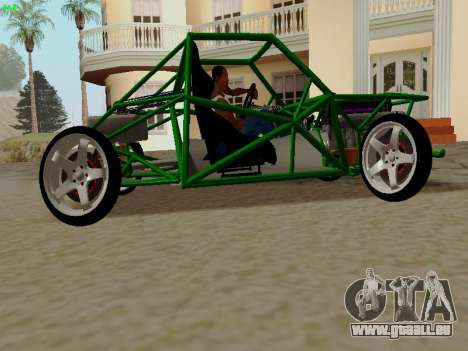 Nocturnal Motorsports Coyote für GTA San Andreas linke Ansicht