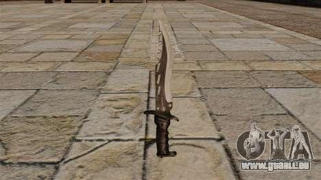 Elite Kampfmesser, den Blade-Jäger für GTA 4