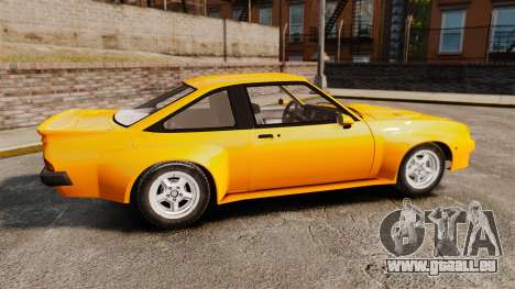Opel Manta für GTA 4 linke Ansicht