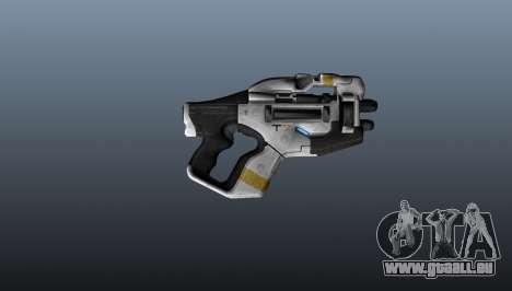 M358 Gun Talon pour GTA 4 troisième écran