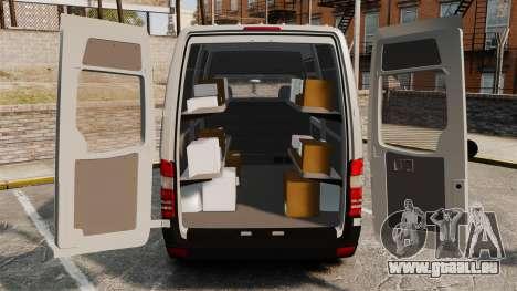 Mercedes-Benz Sprinter 2500 Delivery Van 2011 pour GTA 4 Vue arrière