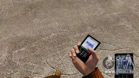 Thème pour téléphone Nokia pour GTA 4