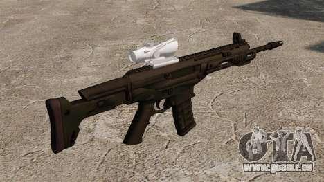 Automatique Remington ACR Aeg pour GTA 4 secondes d'écran