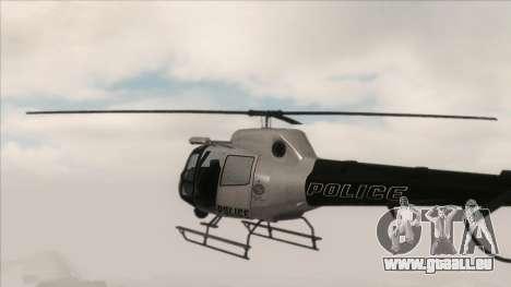 Police Maverick from GTA V für GTA San Andreas zurück linke Ansicht