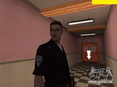 New Police pour GTA San Andreas