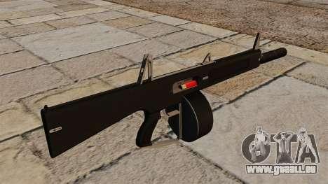 Die AA-12-Flinte mit Schalldämpfer für GTA 4 Sekunden Bildschirm