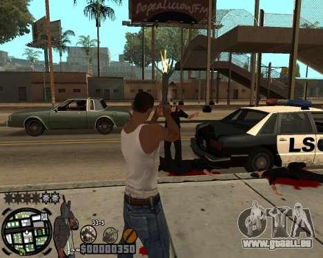 C-HUD Ghetto pour GTA San Andreas deuxième écran