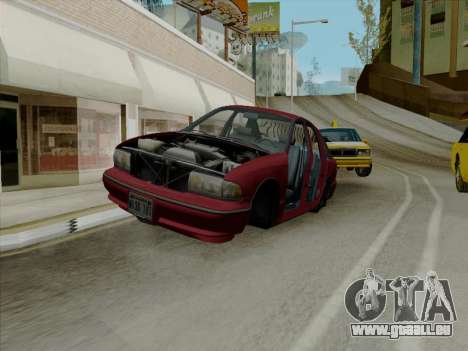 Chevrolet Caprice 1991 pour GTA San Andreas salon