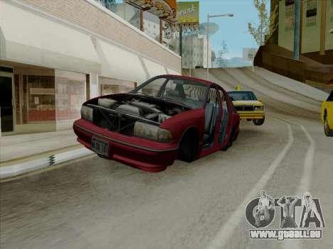 Chevrolet Caprice 1991 für GTA San Andreas Innen