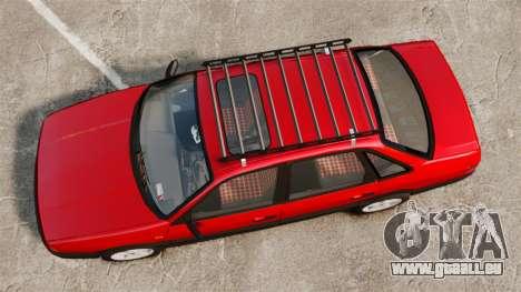 Volkswagen Passat B3 1995 pour GTA 4 est un droit