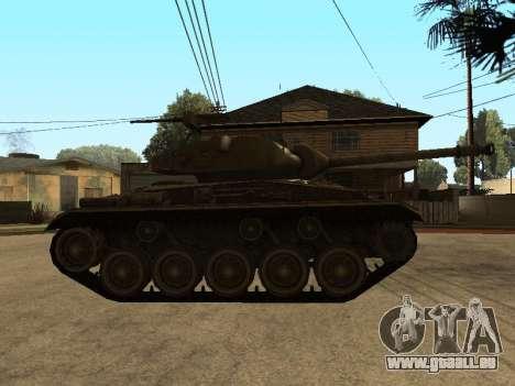 M24-Chaffee für GTA San Andreas zurück linke Ansicht