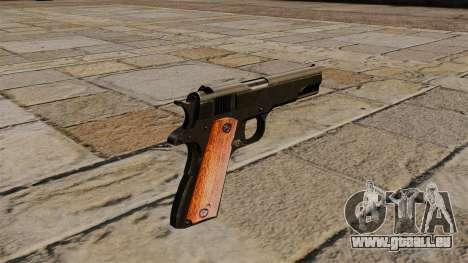 Pistole Colt M1911 Black Edition für GTA 4 Sekunden Bildschirm